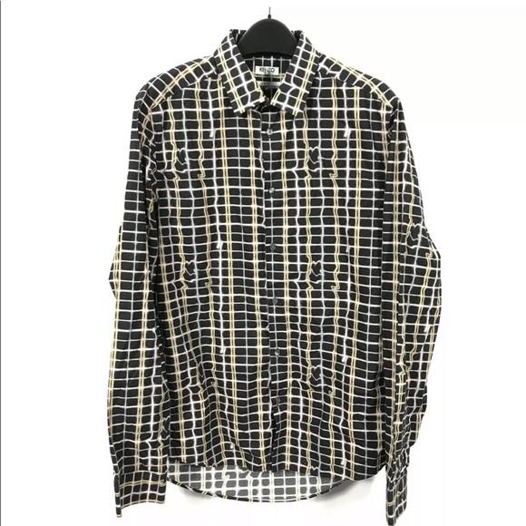 Kenzo button shirt